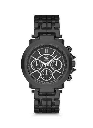 G-Sport Polo Saat Siyah